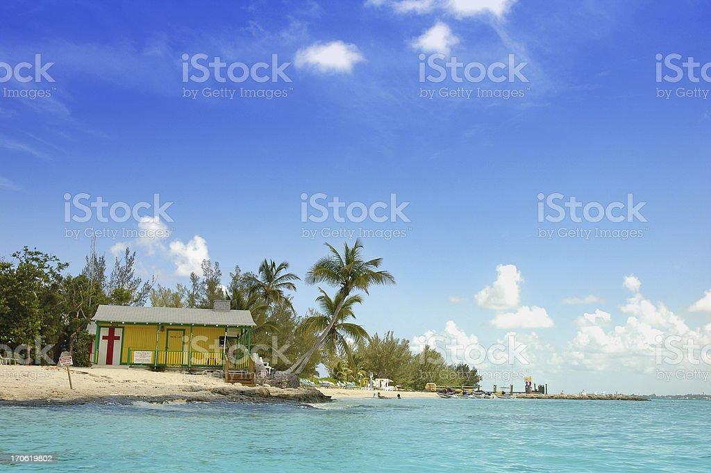 beach farmacy royalty-free stock photo