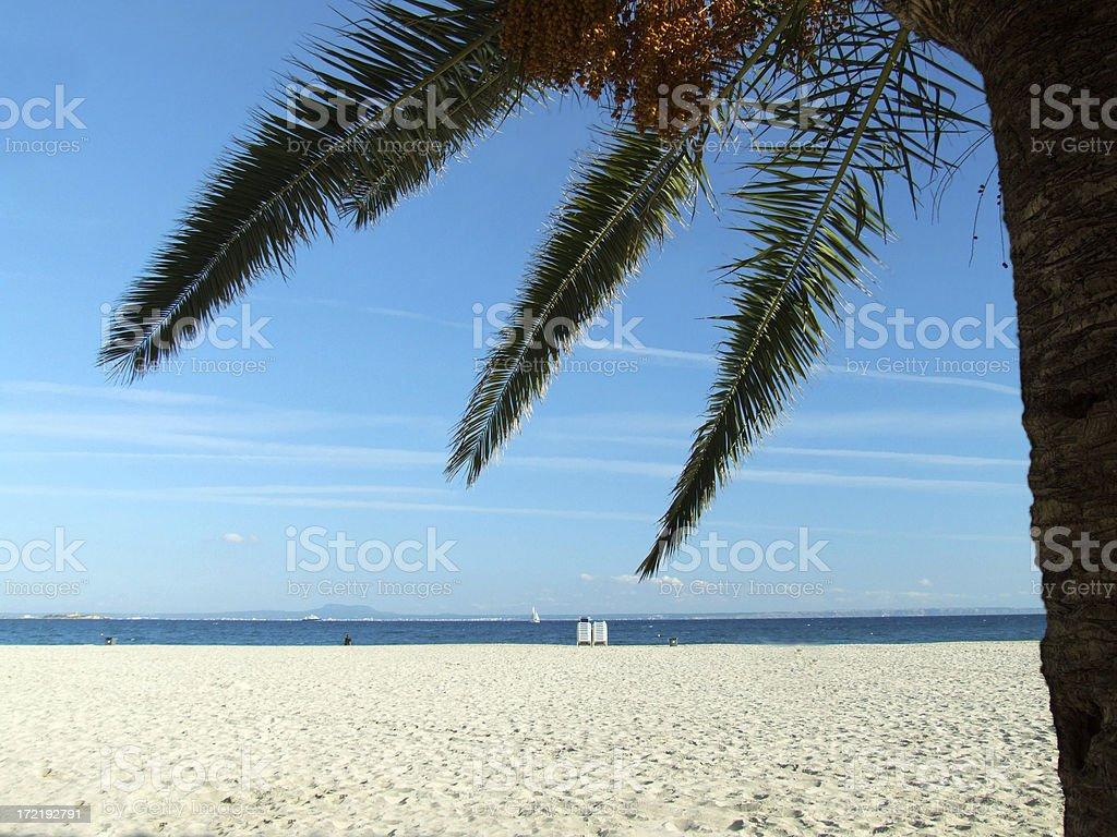 Beach feeling royalty-free stock photo