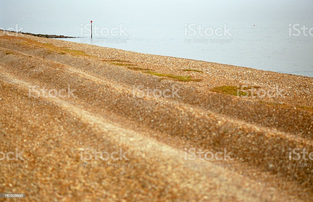 Beach, Folkestone royalty-free stock photo