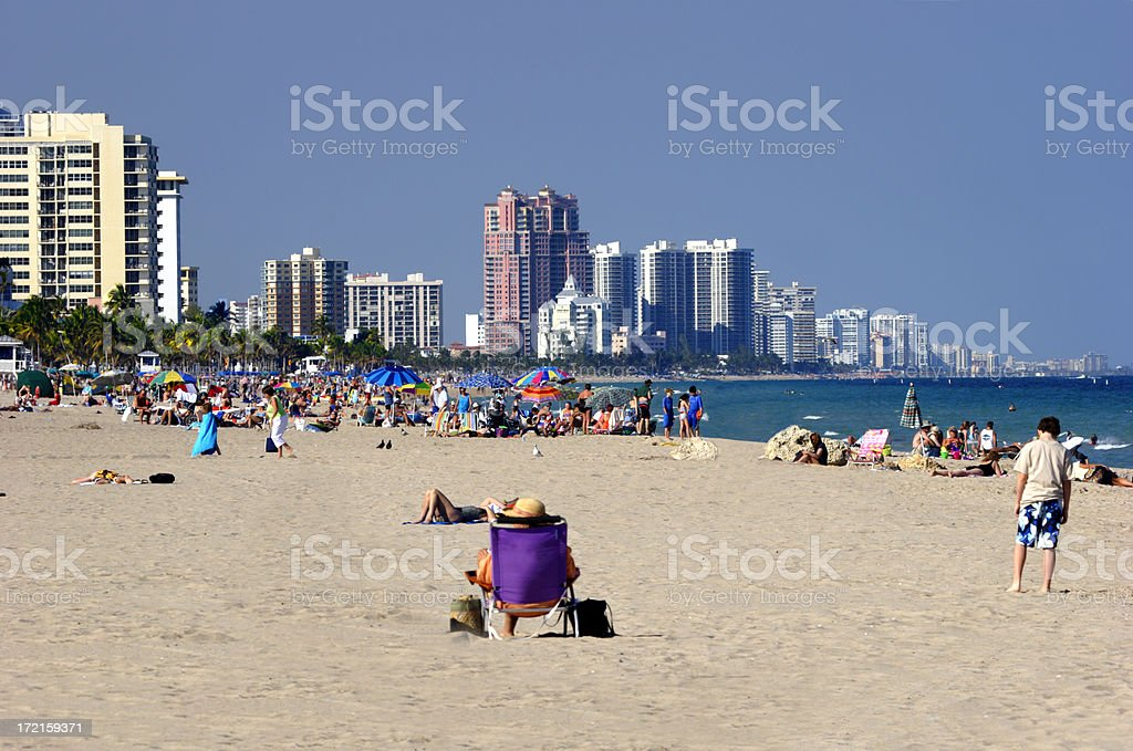 Beach Front 1 royalty-free stock photo