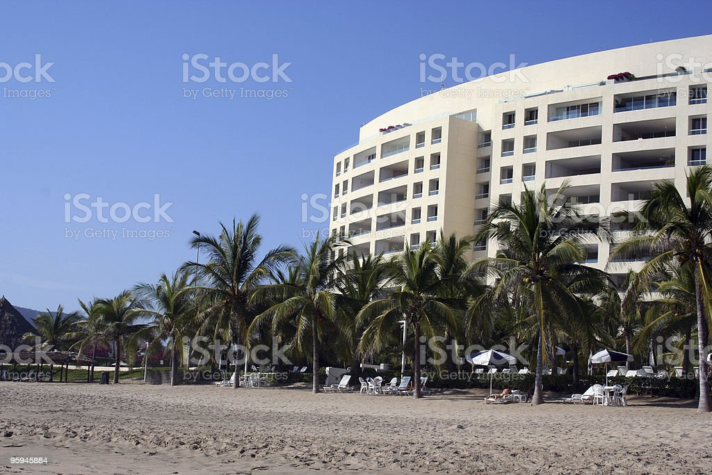 Beach Front Property III royalty-free stock photo