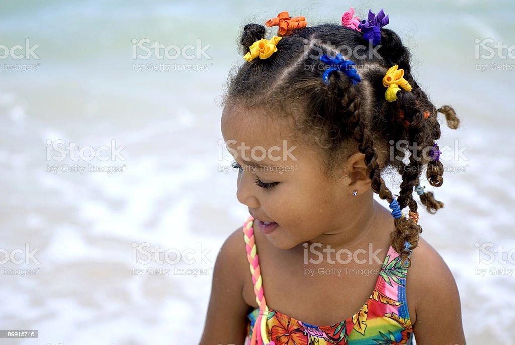 Beach fun royalty-free stock photo