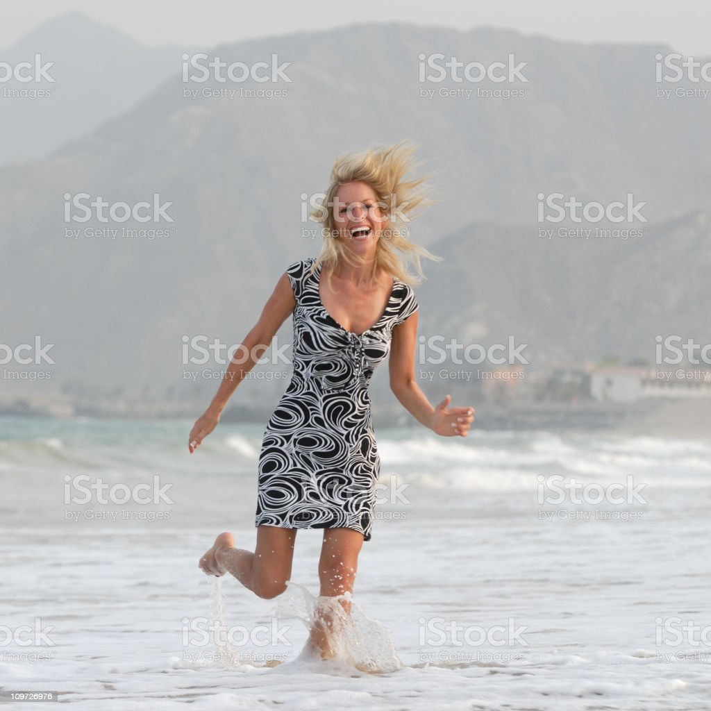 Beach Fun - Vitality royalty-free stock photo