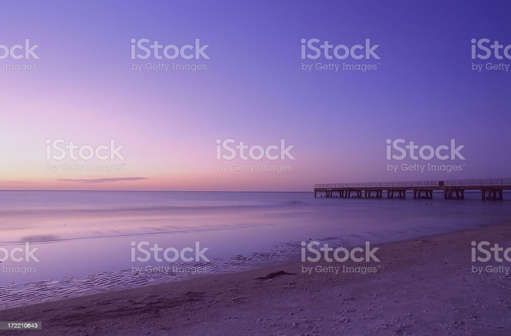 beach, Gulf of Mexico, Florida stock photo