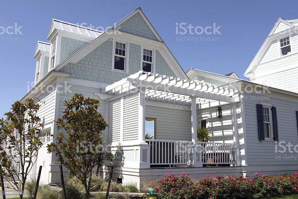 Beach Home royalty-free stock photo