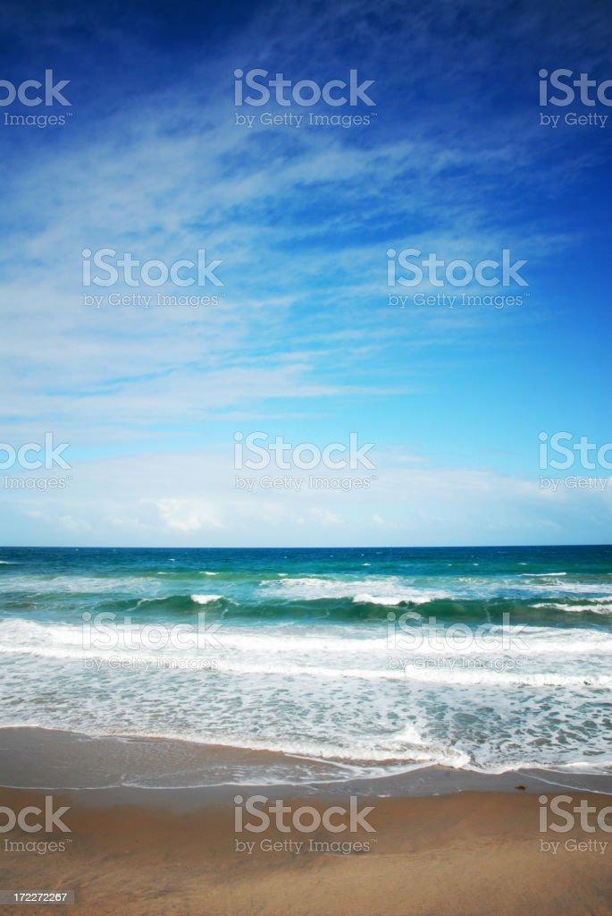 Beach Horizon royalty-free stock photo