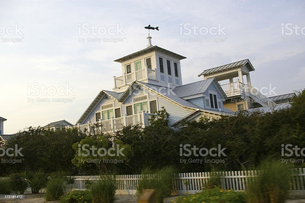 Beach  House royalty-free stock photo