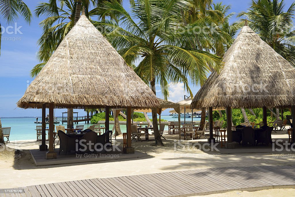 Beach House Restaurant royalty-free stock photo