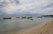 Beach in Albion, Mauritius, Indian Ocean, Africa