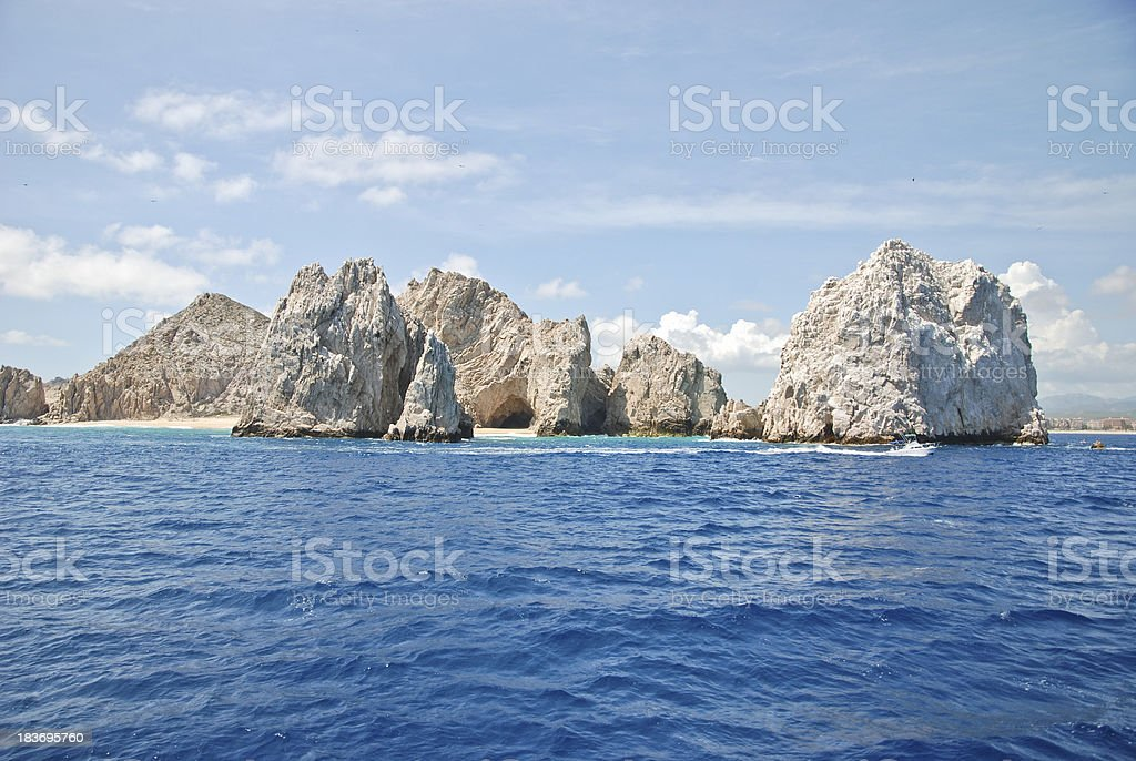 Beach in Cabo San Lucas royalty-free stock photo