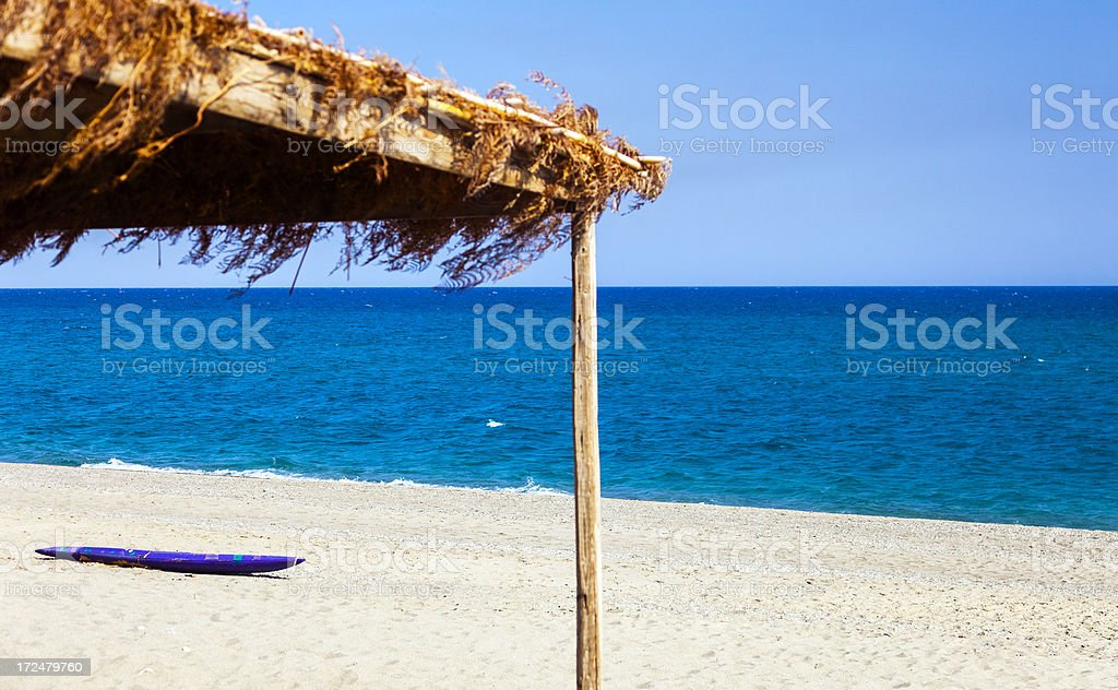 Beach in Calabria, Italy royalty-free stock photo