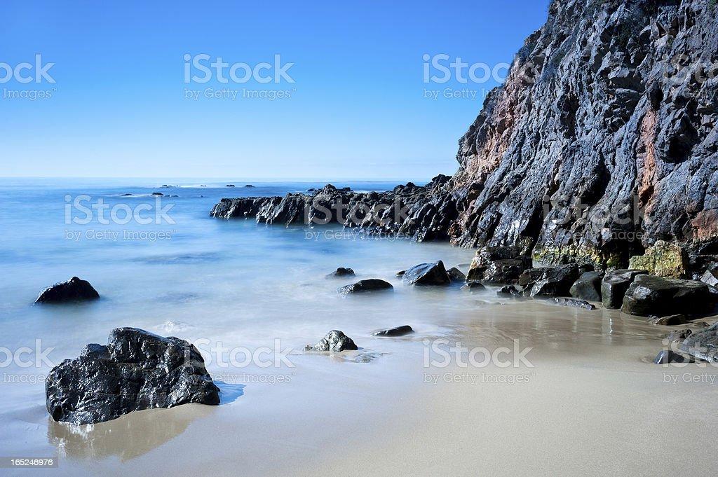 Beach in California royalty-free stock photo