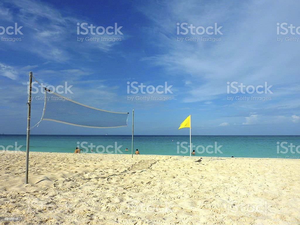 Beach in Cancun, Mexico royalty-free stock photo