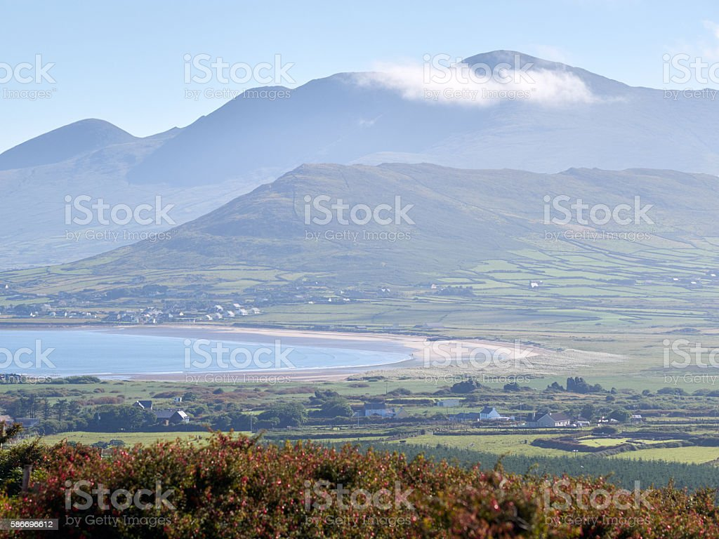 Beach in Dingle, Ireland stock photo