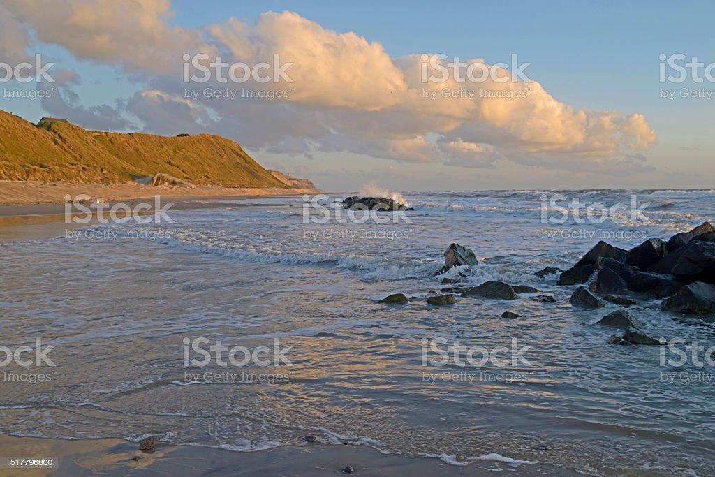 Beach in dk stock photo