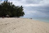 Beach in Flic en Flac, Mauritius, Indian Ocean, Africa