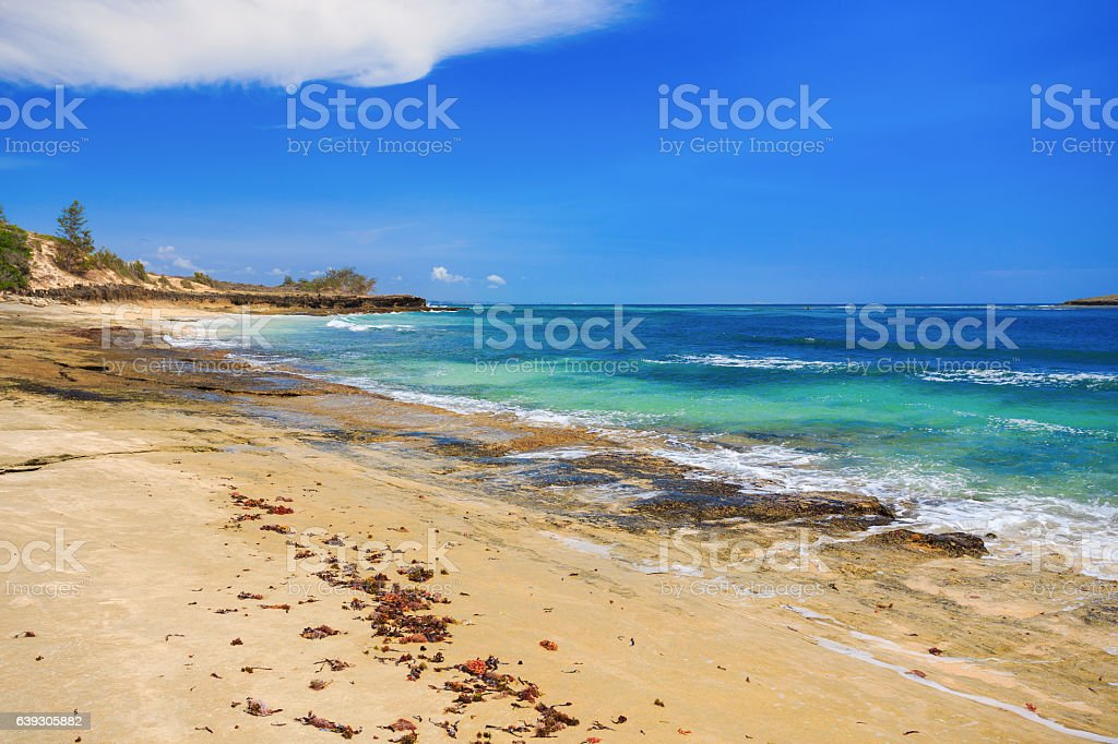 beach in Madagascar, Antsiranana, Diego Suarez stock photo