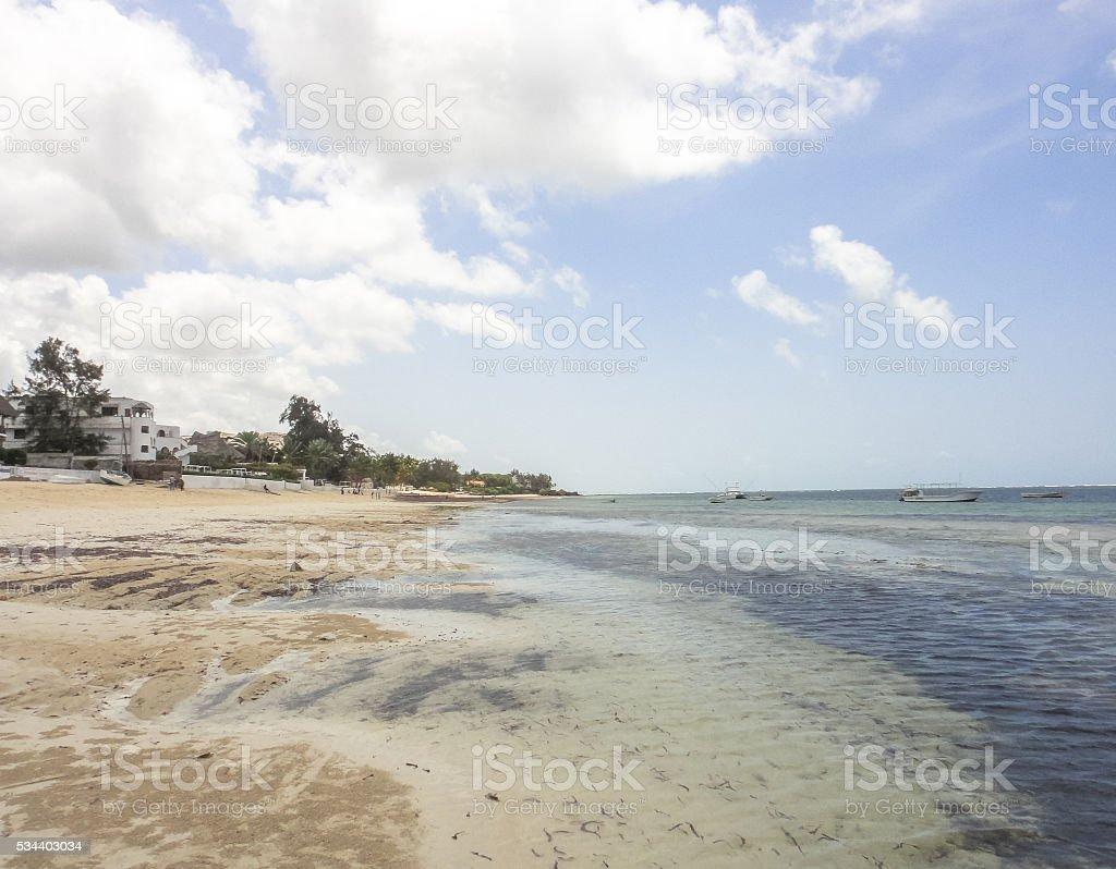 Beach in Malindi. Kenya. Eastern Africa stock photo