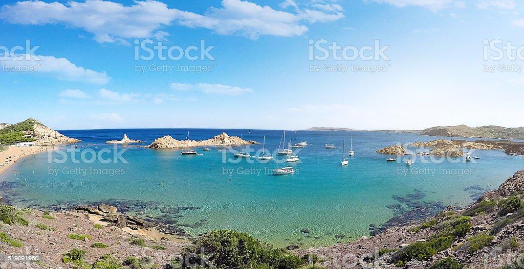 Beach in Mallorca - Balearic Islands, Spain stock photo