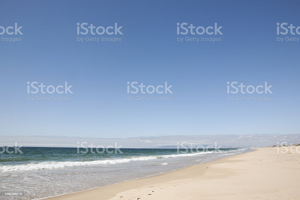 Beach in Portugal royalty-free stock photo