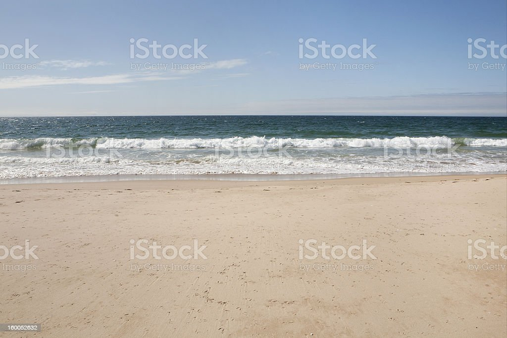 Beach in Portugal stock photo