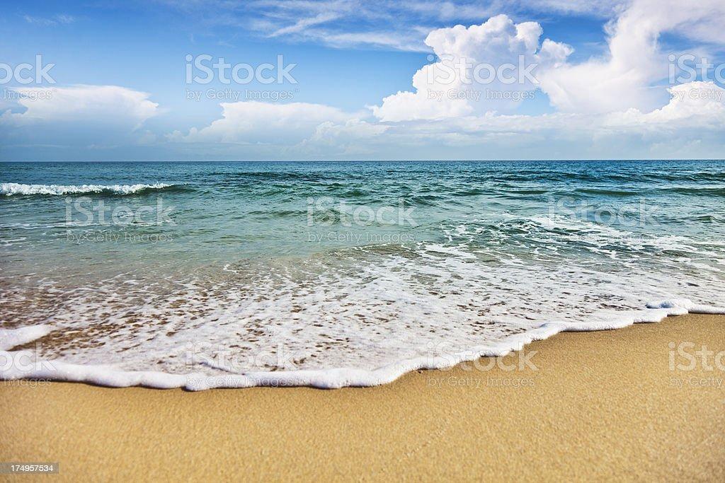 Beach in Puglia, Italy royalty-free stock photo