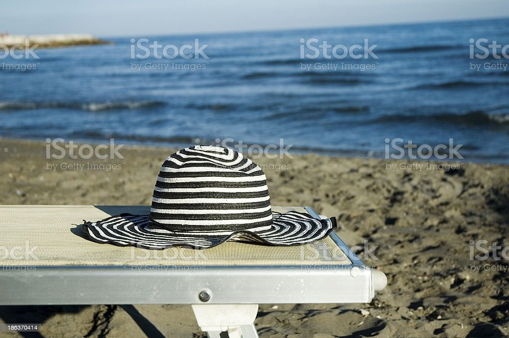 Beach in Summer royalty-free stock photo