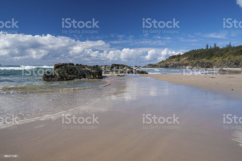Beach in Sydney. NSW royalty-free stock photo