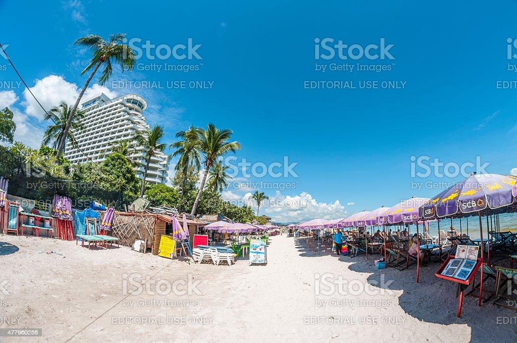Beach In Thailand stock photo