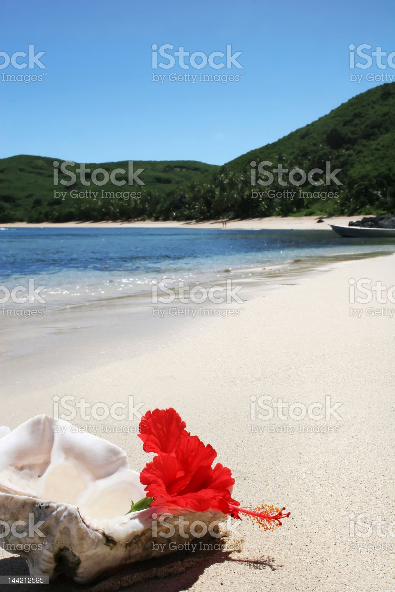 beach island royalty-free stock photo
