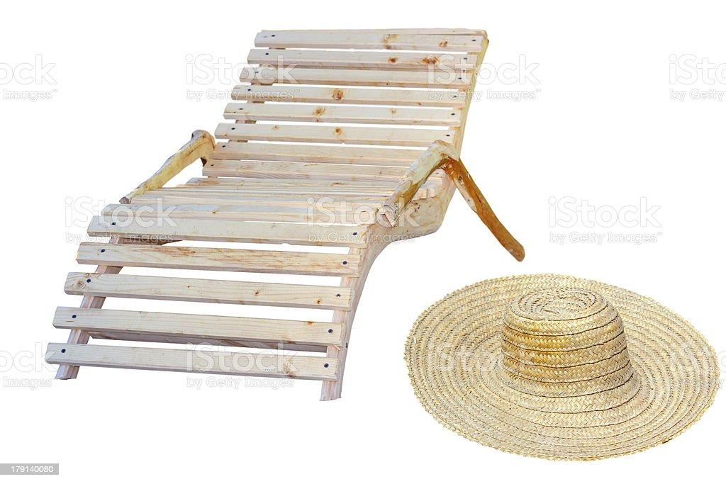 beach items royalty-free stock photo