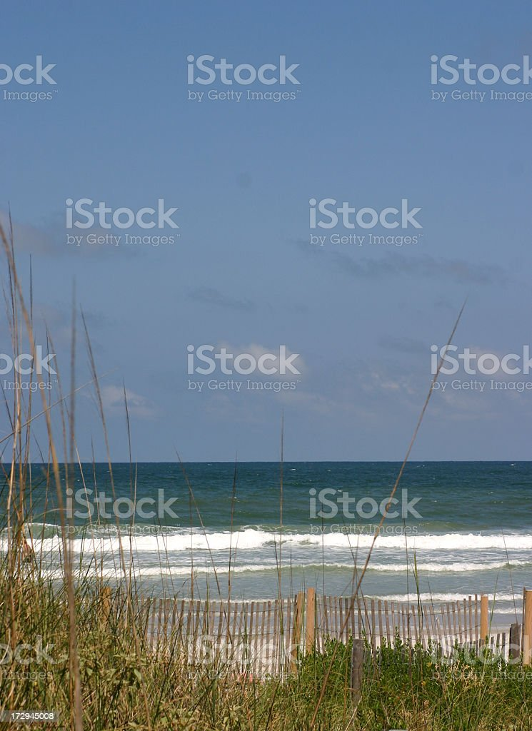 Beach, Jacksonville Florida royalty-free stock photo