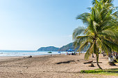 Beach Jaco - pacific coast of Costa Rica