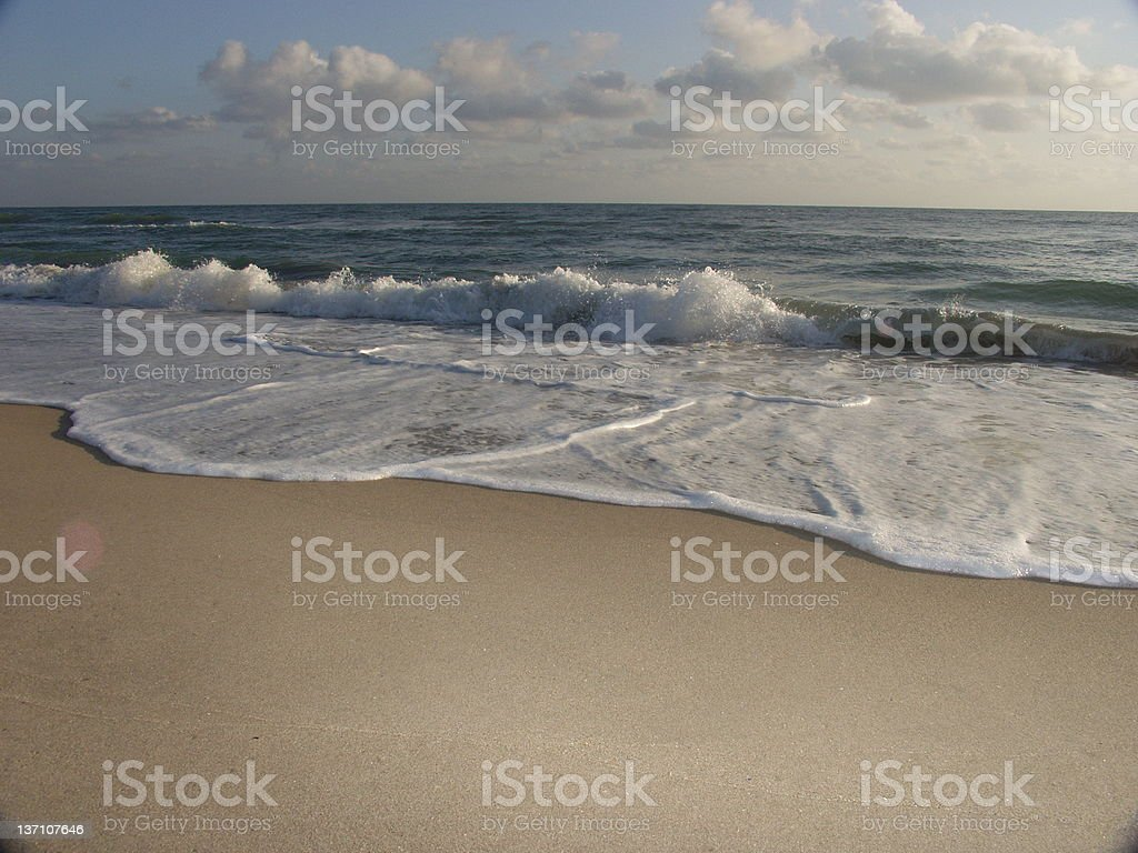 Beach - Jensen 253 royalty-free stock photo