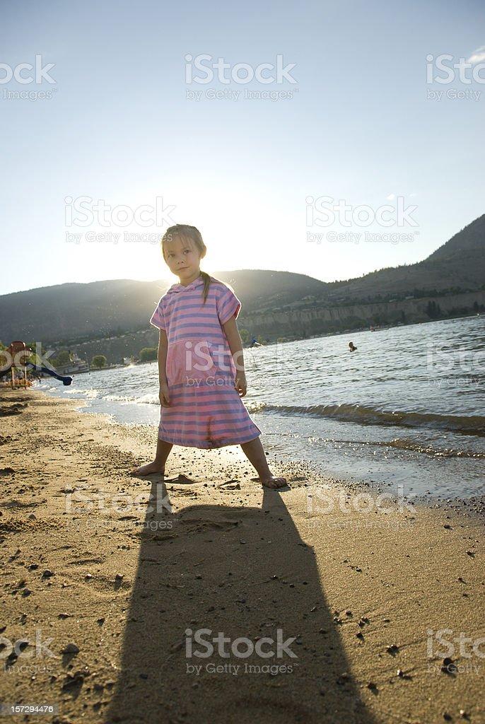 Beach Kid royalty-free stock photo