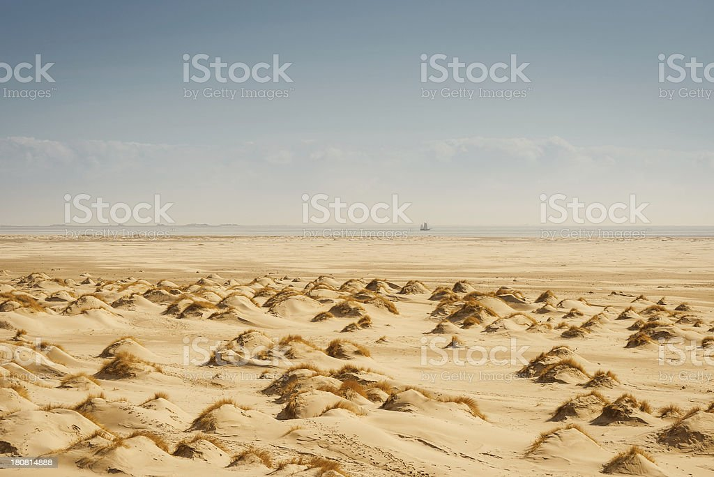 Beach Landscape royalty-free stock photo