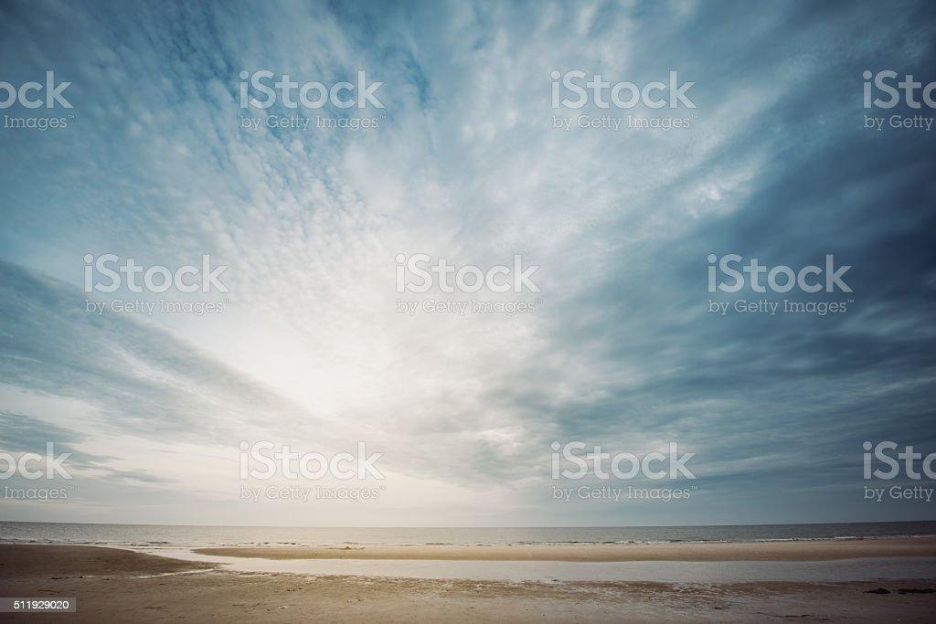 Beach Landscape stock photo