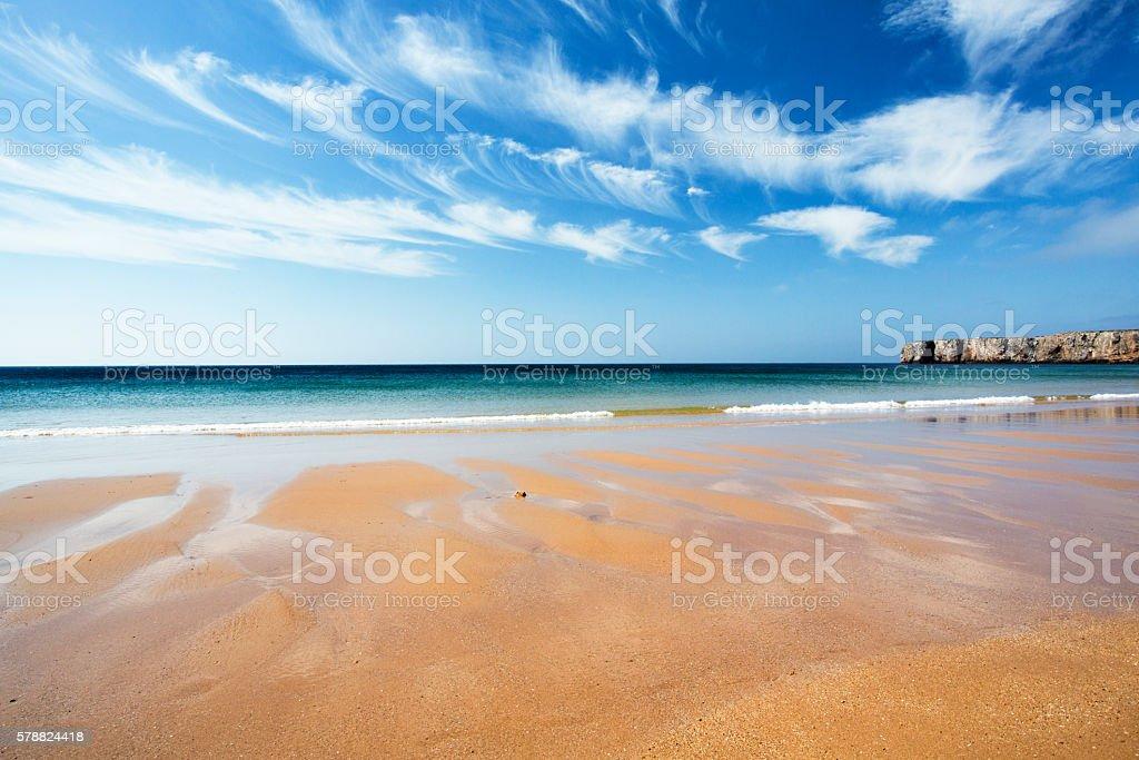 paisaje de playa stock photo