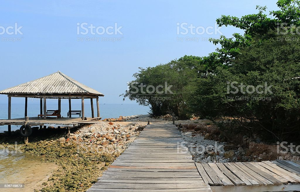 Beach Landscape view stock photo