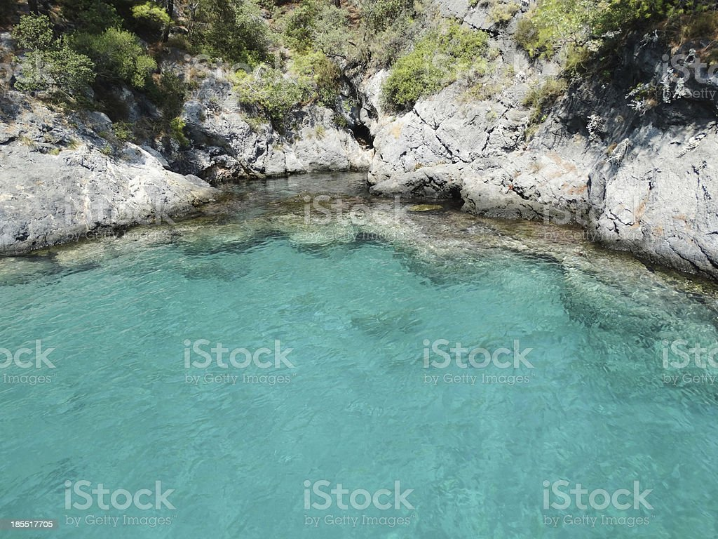 beach landscape water texture royalty-free stock photo