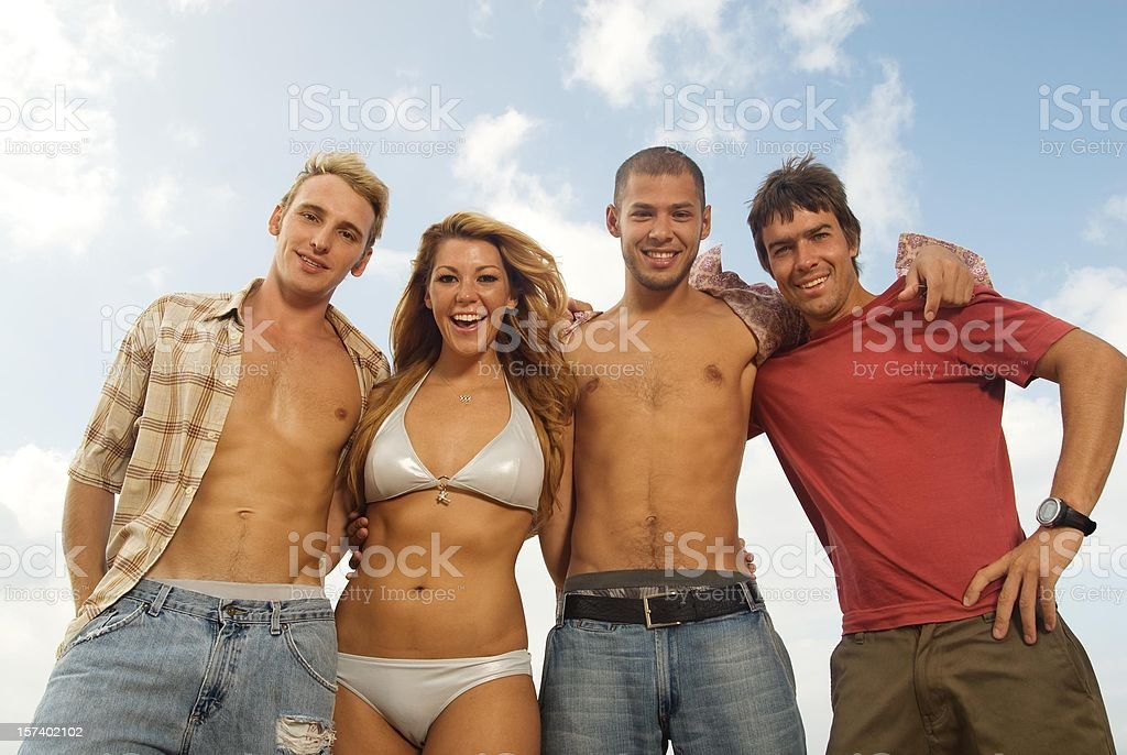 Beach Lifestyle royalty-free stock photo