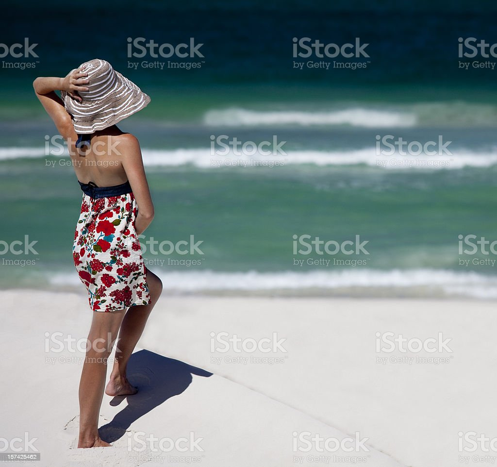 Beach lookout royalty-free stock photo