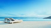 Beach lounge - Sundeck on Sea view