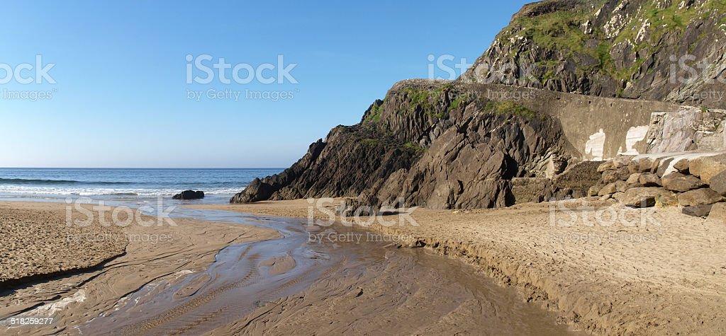 Beach near Slea Head royalty-free stock photo