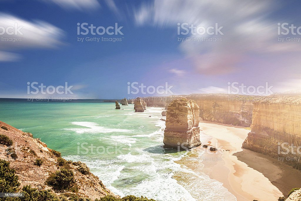 Beach of 12 Apostles - Australia royalty-free stock photo