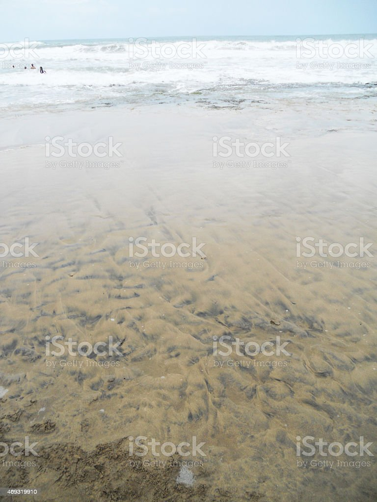 beach of costa rica stock photo