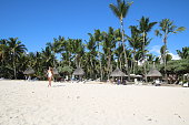 Beach of Flic en Flac, Mauritius, Indian Ocean, Africa