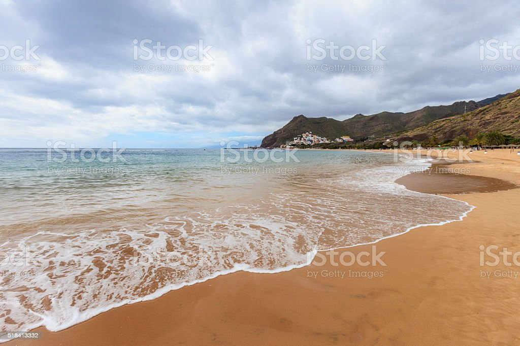 Playa de Las Teresitas Tenerife stock photo