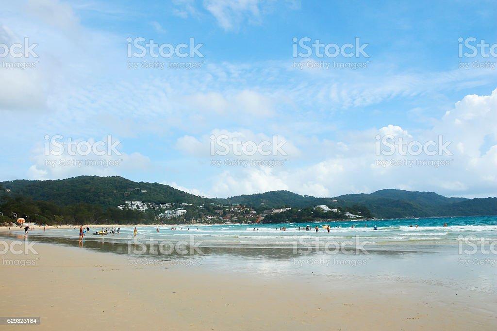 beach of Phuket. stock photo