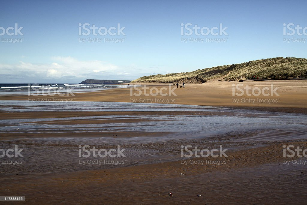 Beach of Portrush stock photo